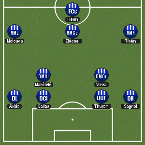 france451 Lone Striker Formations